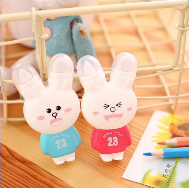 1pcs/lot Novelty Kawaii Rabbit Correction Tape Office School Stationery Supplies