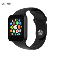 New Styling MTK 2502C Bluetooth 4.0 Smart Watch Camera Sport Fitness Wrist Wireless Phone Email Facebook SMS For Android iphone