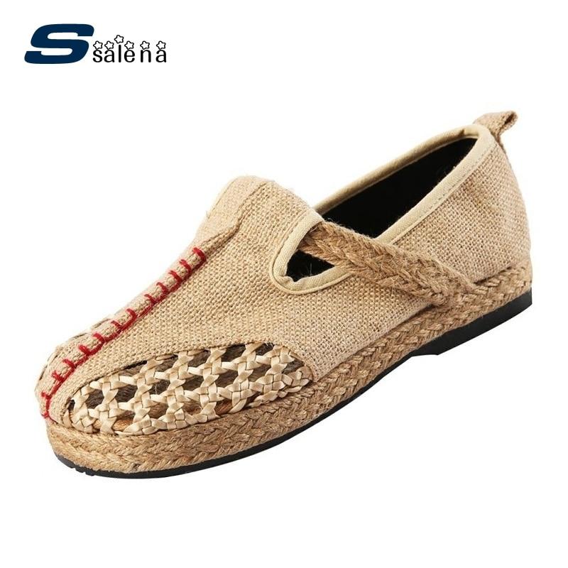 Las Moda Zapatos Mujeres Mocasines Pisos Para amarillo Señoras Transpirable Aa50061 De Azul Verano Antideslizante rojo YFwvxwfRn
