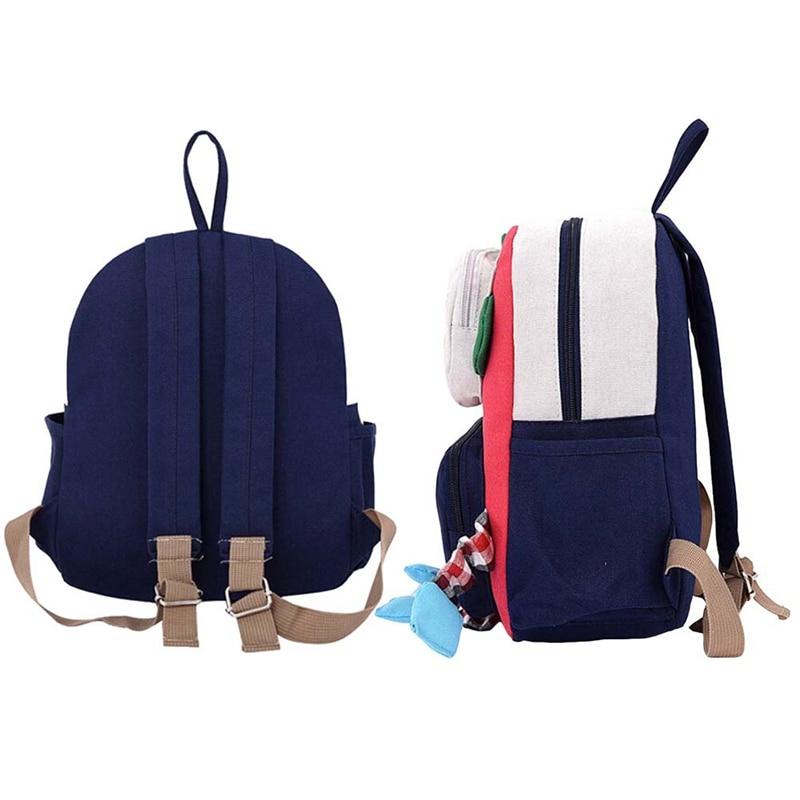 900123bf83ae 3D Robot Kindergarten Cute Cartoon Backpack Children For Girls Boy Baby  Mini Schoolbag Kids Backpacks Mochila