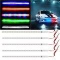 Carro-styling Nova Marca à prova de Água-Carro Decorativo Luz LED Strip Flexível DC 12 V 3528 SMD LED de alta Intensidade e Confiabilidade