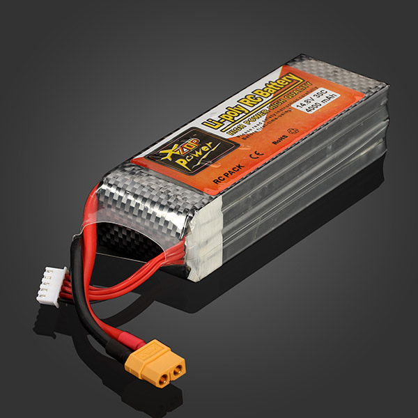 High Quality Rechargeable ZOP Power 14.8V 4000mAh 4S 30C Lipo Battery XT60 Plug For RC Helicopter Spare Parts  цена и фото