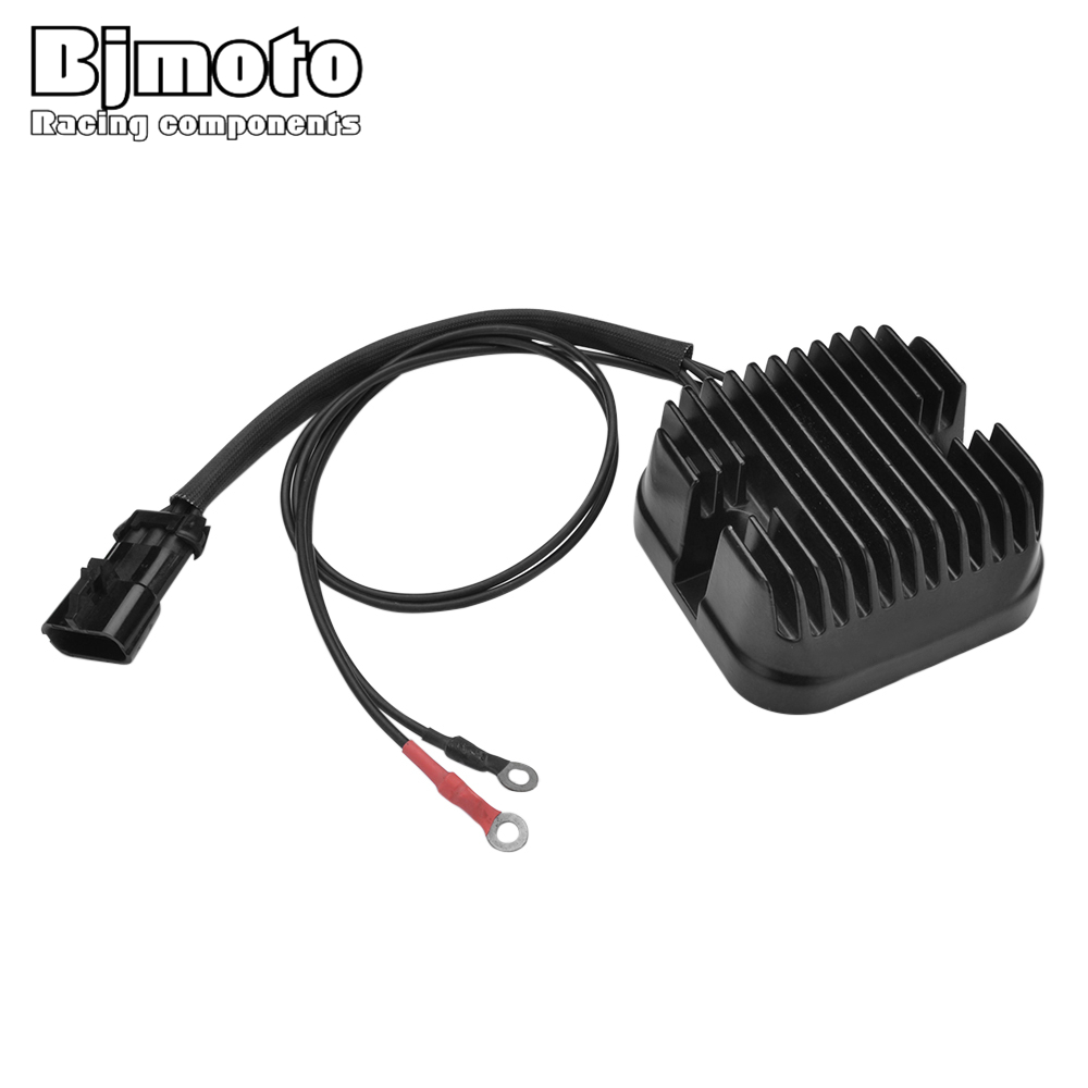 BJMOTO Motorcycle Metal Voltage Regulator Rectifier Motorbike For Polaris VISION ALL OPTIONS 2011 Victory Cross Country 10-14 цена