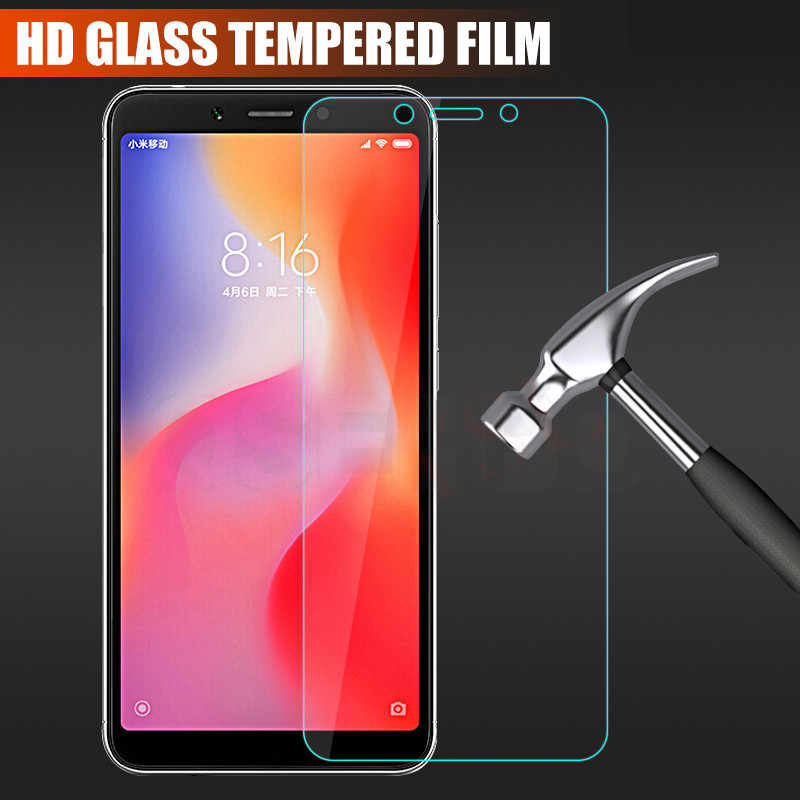 Protective Glass on the For Xiaomi Redmi 6 Pro 6A 5 Plus 5A 4 4A 4X S2 Screen Protector For Redmi Note 4 4X 5 5A Pro Glass Film