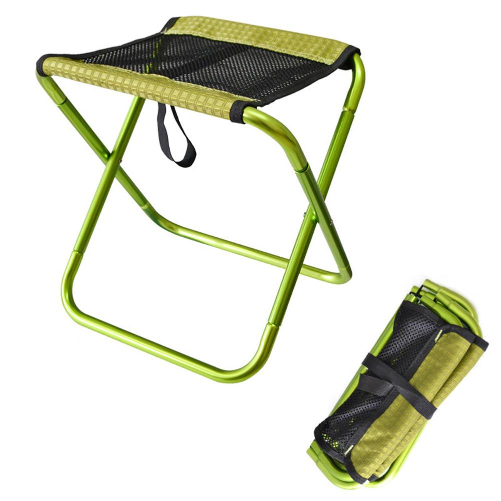 Outdoor Foldable Fishing Chair Ultra Light Portable Folding Backpack Camping Oxford Cloth Aluminum Alloy Picnic Fishing Chair fishing chair backpack camouflage oxford cloth large capacity fishing bag portable foldable stool fishing tackle tool chair bag