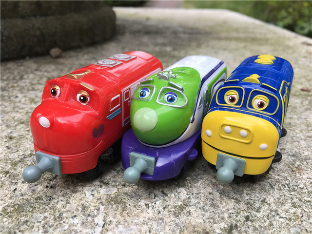 Takara Tomy Chuggington Trains Wilson/KOKO/Brewster 3pcs Toy Cars New No Package