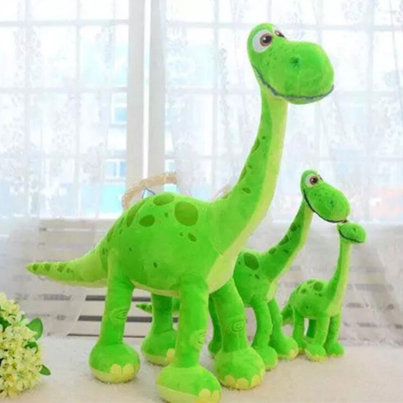 130cm Good Quality Cartoon Dinosaur Pixar Movie Green Arlo Dinosaur Stuffed Animals Plush Soft Toys for For Children Gifts