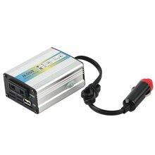 2016 1 unid 12 V DC a AC 220 V Car Auto Power Adaptador del inversor del Convertidor del Adaptador 200 W USB venta caliente para todos coche