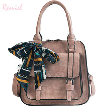 European style Retro Fashion Women's Designer Handbag 2018 New Quality PU Leather Women bag Big Tote Shoulder Crossbody Bag