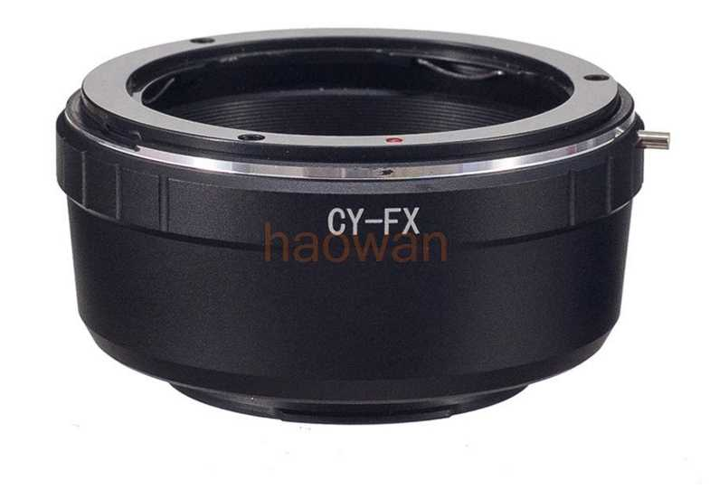 Gadget Place Contax Yashica Lens Adapter for Fujifilm X-A2 X-T1 X-E2 X-A1 X-M1
