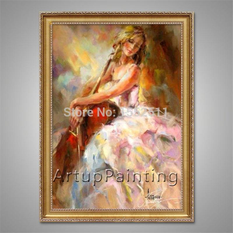 Ισπανικά Flamenco βιολί κορίτσι - Διακόσμηση σπιτιού - Φωτογραφία 3