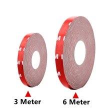 3 метра 6 М Размер ленты 10 мм Двусторонняя клейкая акриловая Пена лента для 5050 RGB светодиодный светильник гибкий неоновый светильник s