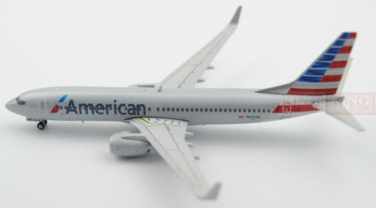 GJAAL1361 GeminiJets American Airlines 1:400 B737-800/w commercial jetliners plane model hobby sale phoenix 11221 china southern airlines skyteam china b777 300er no 1 400 commercial jetliners plane model hobby