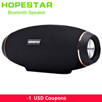 Hopestar H20 Portable Bluetooth Speaker waterproof mp3 Music column Wireless 30W PC tv Sound bar box Stereo Subwoofer for xiaomi