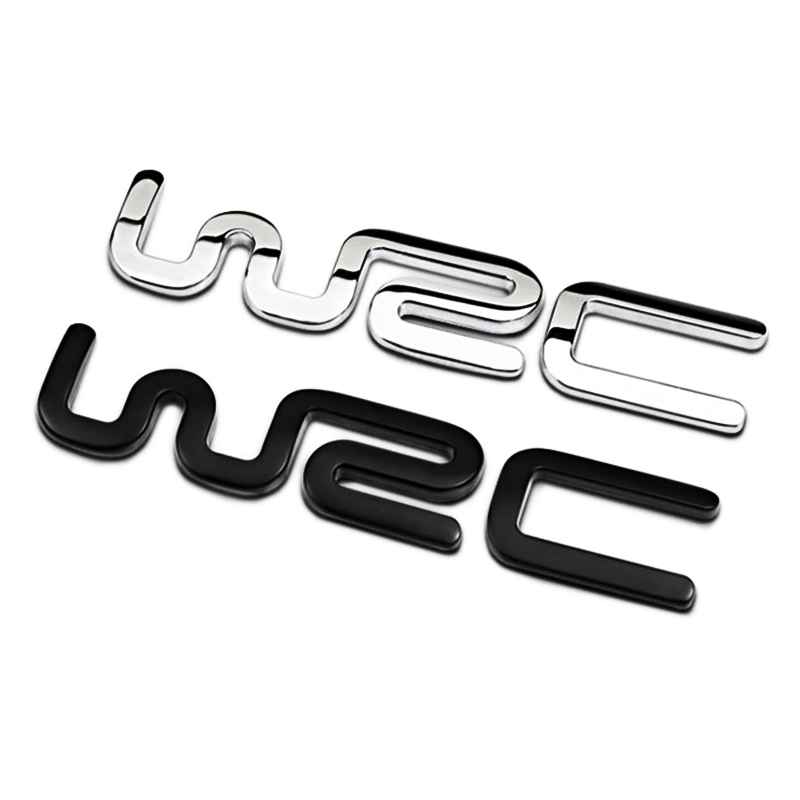 OTOKIT Alloy WRC 3D Metal Auto Car Badge Emblem Sticker for Toyota Yaris Ford Fiat Citroen Audi SUZUKI Volkswagen VW Golf Cruze