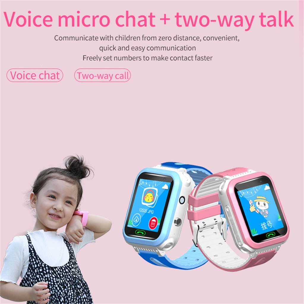 Gps-Tracker Watches Phone Smartwatch Anti-Lost Clockds Kids Safe SOS SIM 2G DS63 Tf-Card