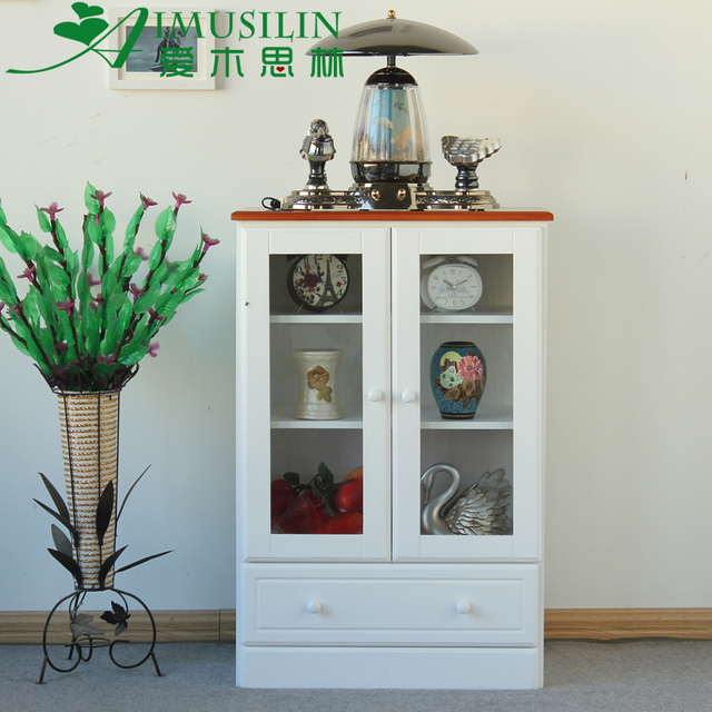 Beautiful Silin Love Wood Wood Furniture Modern Minimalist Small Apartment  Combination Tv Cabinet Vitrine Cabinet Aigui With Vitrine Modern