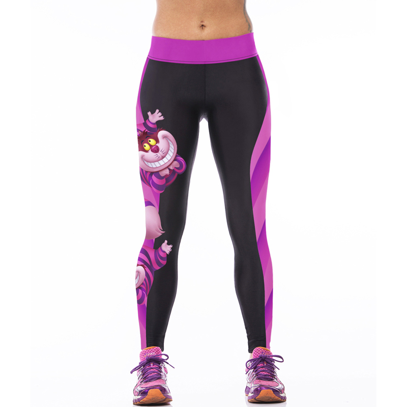 2016 New Women Sportswear Yoga Pants Skinny High Waist Elastic Fitness Yoga Tights Sports Leggings Women Yoga Clothing
