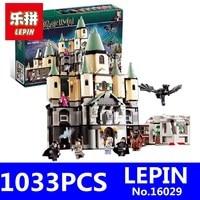 Magic Hogwort Castle Set LEPIN 16029 1033Pcs Movie Series Children Educational Building Blocks Bricks Kids Toys