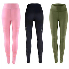 Maryigean 3 Colors Sporting Leggings Clothing For Women's Fitness Quick Dry Pants High Waist Leggins Fitness Workout Leggings