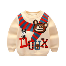 Kids Cotton T-shirt winter Children Long Sleeve T-Shirts Boys Girls Clothes Tees Unisex Casual Blouse Pullover Tops 2017 new spring boys girls cartoon cotton tattoo t shirts children tees boy girl long sleeve t shirts kids tops baby clothes 12m 6y