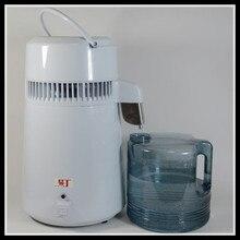 Дистиллированная вода машина с нержавеющая сталь слепой крышкой/портативный Электрический чистая вода стоматологический дистиллятор очиститель