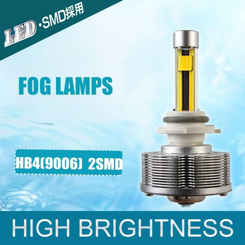 New Design HB4 9006 LED Automotive Trucks Fog Lamps HB4 LED Cars Light Source 9006 Bulbs