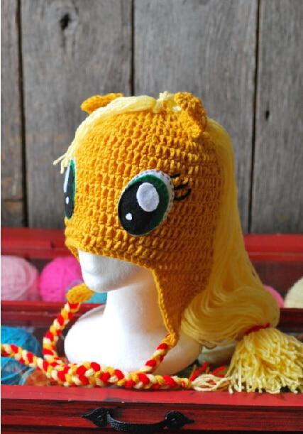 Hot Sale Crochet Handmade Crochet Photography Props My Little Pony