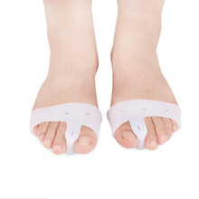 wholesale and retail Toe Separator Forefoot pad Silicone Braces Pad Thumb Protector Bigfoot thumb valgus separator hallux