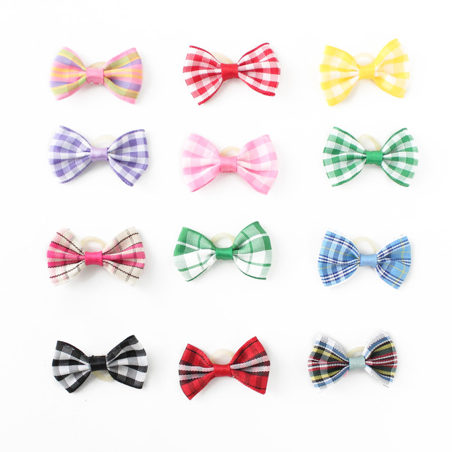 Cute Handmade Hair Bows For Small Dogs