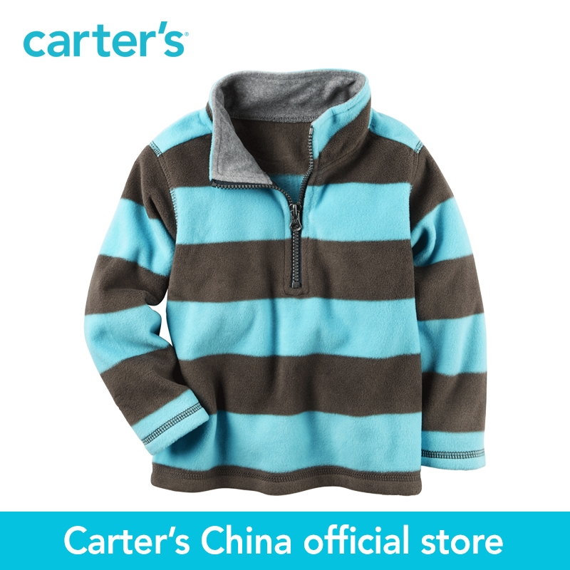 Carter's 1pcs baby children kids Half-Zip Heavyweight Fleece Pullover 225G949,sold by Carter's China official store