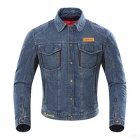 New Arrival Motorcycle Denim Riding Protector Winter Jacket with Removable Lining All season jacket