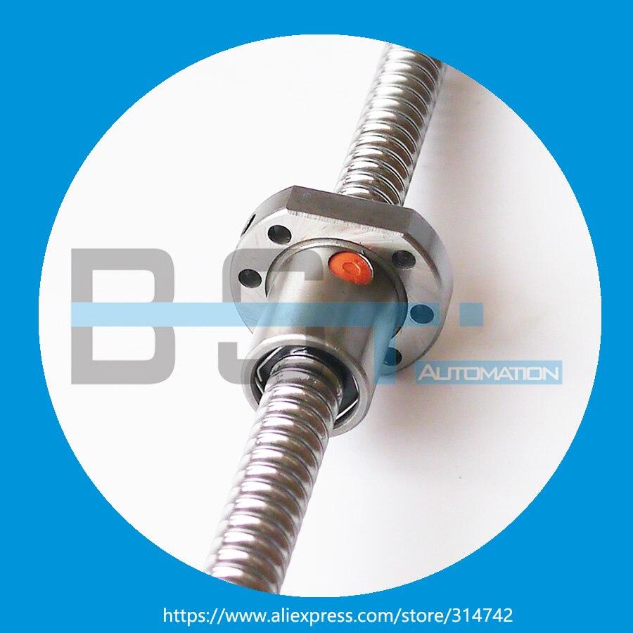 BSTMOTION SFU1605 шариковый винт L = 350 мм/550 мм/1000 мм+ 3 шт. RM1605 шариковая гайка для ЧПУ со стандартной обработкой