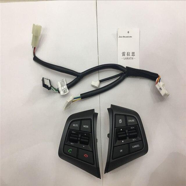 c76ca8989f Top Qualidade Para Hyundai ix25 2.0 (creta) Botões de Controle de Cruzeiro  Volante Botão