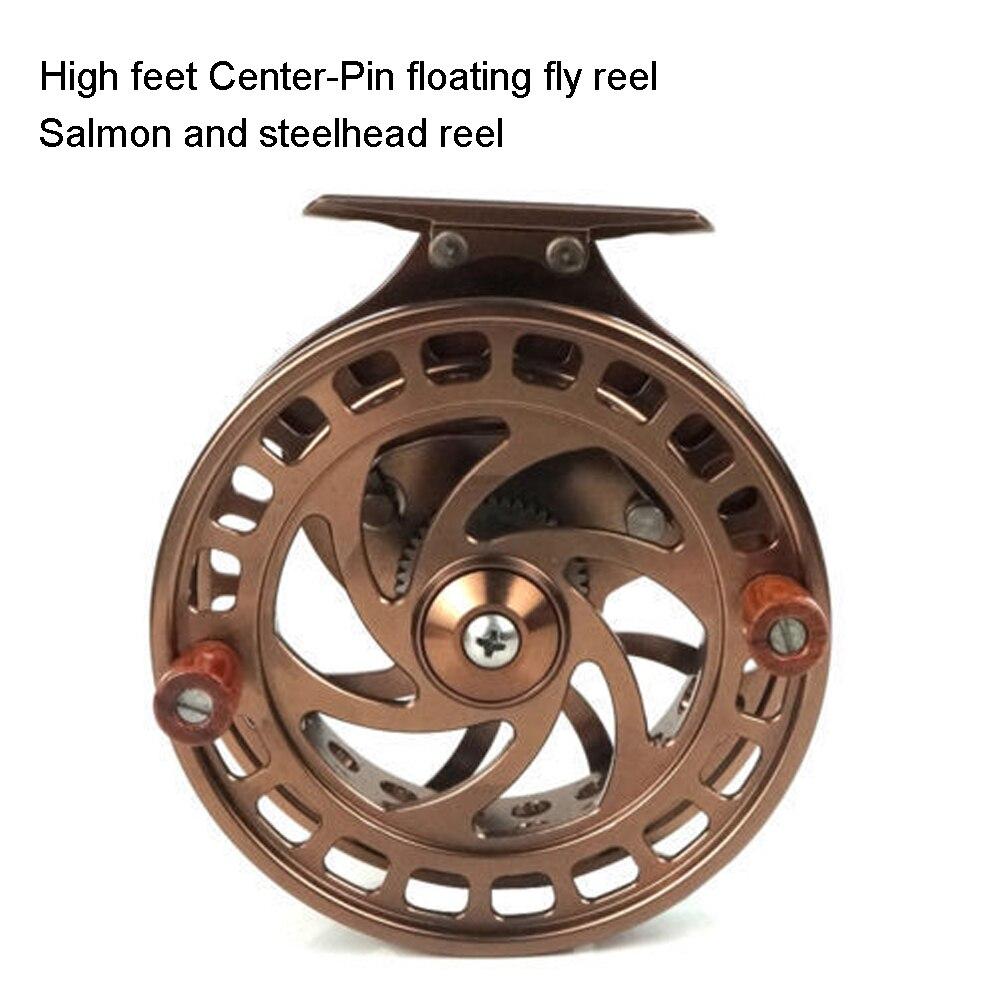 Aventik CNC Machined Cut Center-Pin Floating Fly Fishing Reel High Feet Salmon Steelhead Floating Fly Reels Super Light Reel NEW zipper fly distressed narrow feet pants