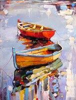 Barcos e Navios Pintura Hand-painted 100% Kolarov Georgi Abstração Não Emoldurado Pinturas Da Arte Da Lona de Alta Qualidade