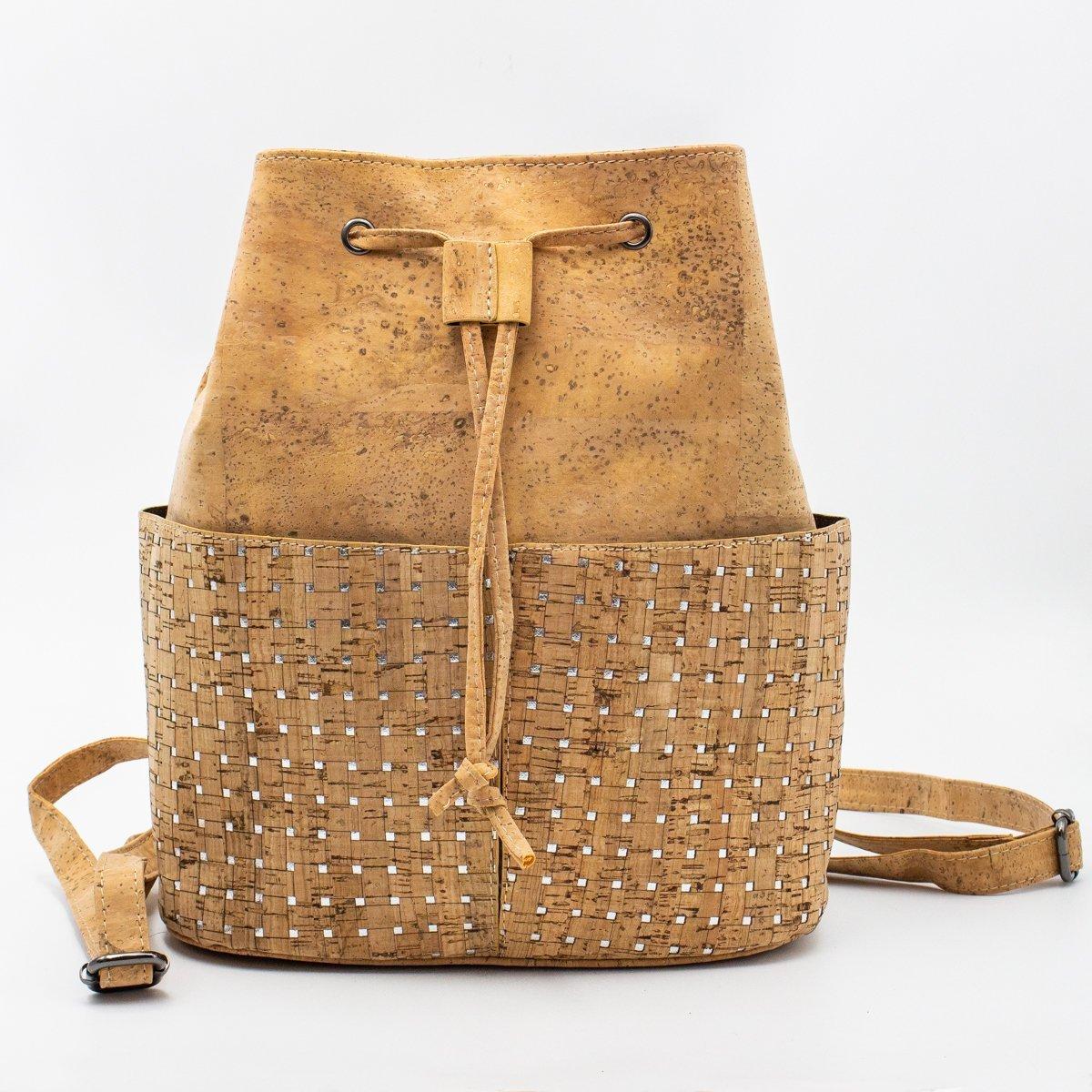 Sac à dos en liège naturel sac à dos pour femme sac végétalien 360-in Sacs à bandoulière from Baggages et sacs    1