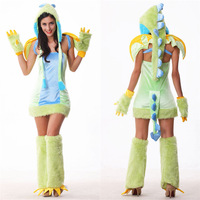 VASHEJIANG Anime How To Train Your Dragon 2 Costume Women Fur Dragon Cosplay Adult Fantasia Cosplay