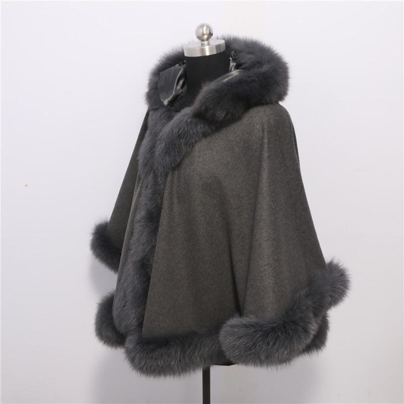 Brezplačna dostava Nova moda plemenita lisica krzneni plašč - Oblačilni dodatki - Fotografija 2