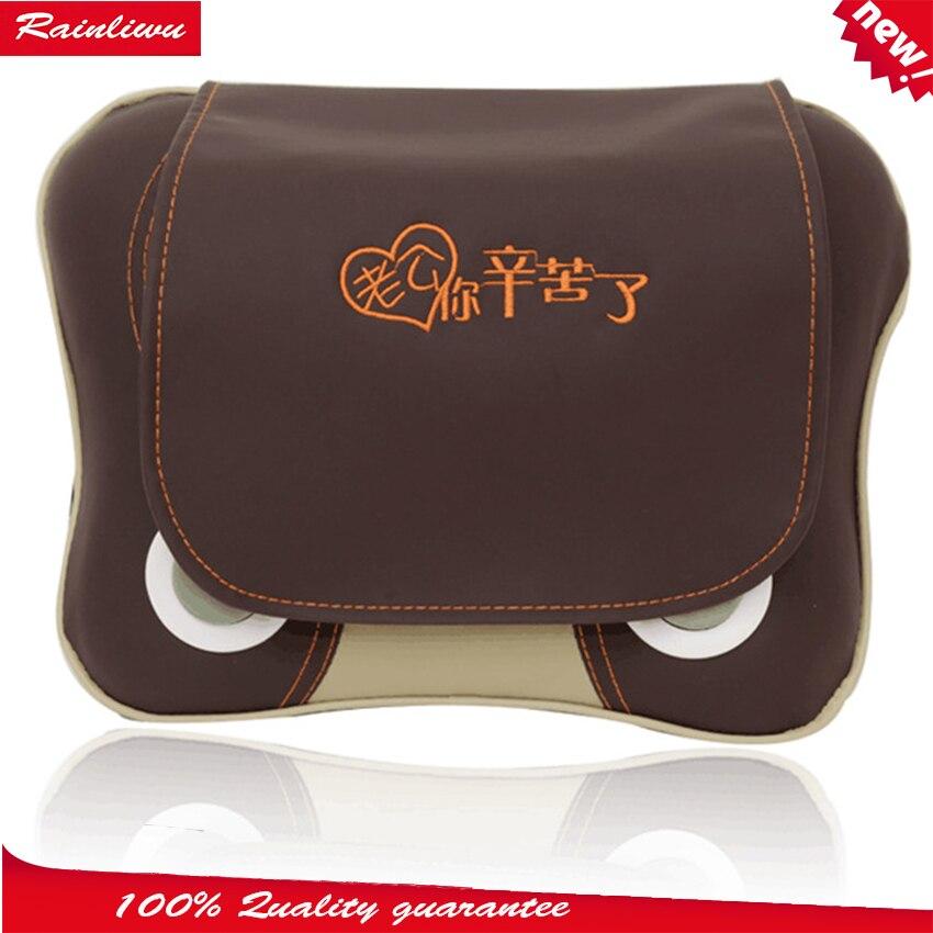 Massage pillow Multi-function Cervical Vertebra Massage device Neck Shoulder Waist Back Massager Home massage instrument