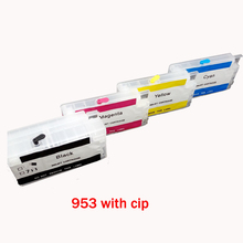 einkshop Empty Refillable Cartridge For hp 953XL 953 XL With Chip HP Officejet Pro 7720 7730 8730 8740 8735 8715 8720 8725