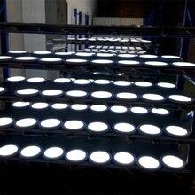 15W LED Panel Light Ceiling Lights AC90-130V Led sensor Downlight Human Body Infrared Detector Motion Round Flush Mount Light