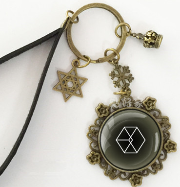 EXO-K Park Chan Yeol keychains pendant handing tools for collection gifts vintage style  ...
