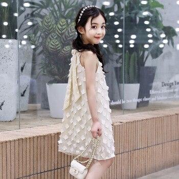 c3985a4ccd9c Vestido de otoño para niñas de manga larga con volantes Niñas Ropa diseño  de flores niñas doesses ...