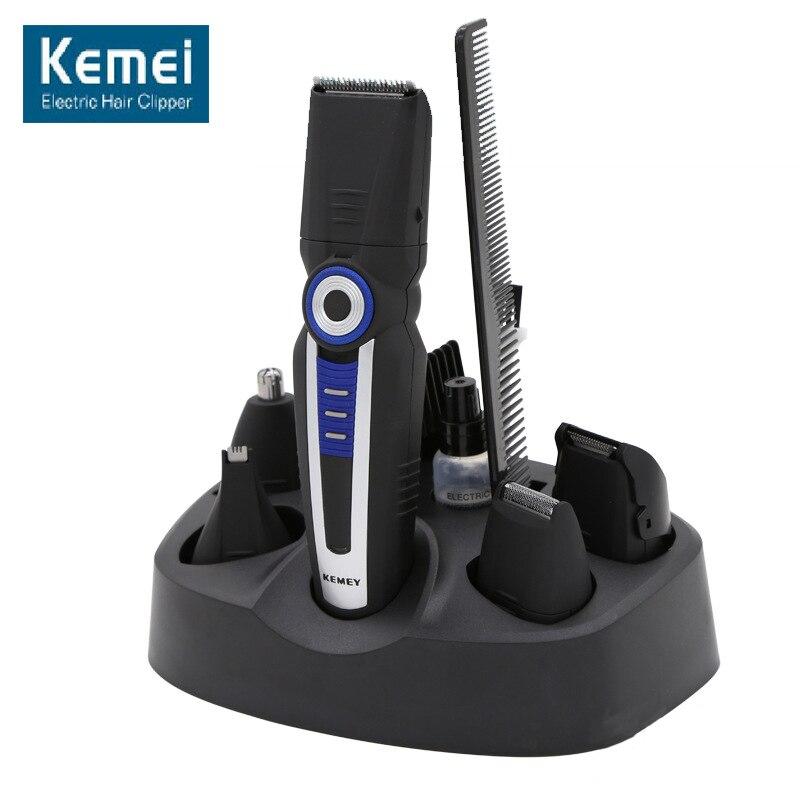 Original Kemei 008 Professional 5 In1 Electric Hairs Clipper Personal C