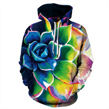 все цены на 2019 New Fashion Men/Women 3d Sweatshirts Print Colorful Flower Thin Hoody Tracksuits Tops Hooded Hoodies