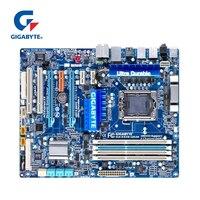 Для Intel X58 гигабайт GA EX58 UD3R материнской DDR3 LGA 1366 USB3.0 24 ГБ SATA III EX58 UD3R настольная материнаская плата 2x PCI E X16 используется