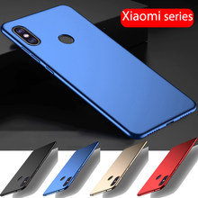 Premium Plastic Hard Case Xiaomi Mi 8 A1 A2 lite Mi Mix 2S Max 2 3 Ultra Slim PC Cover Redmi Note 6 5 4 3 Pro Note 5A Prime Case(China)