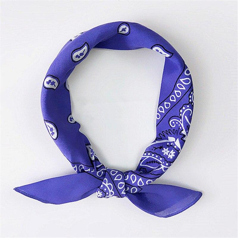 Écharpe en coton unisexe style Hip Hop   Écharpe carrée pour bandeau, couvre-chef, couvre-chef magique, en mélange de coton
