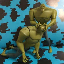 Imperfect Action Figure Classic Toy DC Comics Animated Series Killer Croc 9cm Loose Toy PVC Figure Model Collectible Toy Gifts